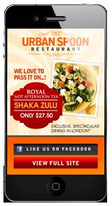 Restaurant Mobile Website